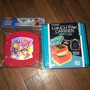 Other - Brand New kids lunch pack bundle (2 items)